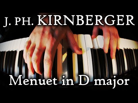 Johann Philipp KIRNBERGER: Menuet in D major