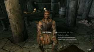 [HD] Skyrim:How To Get Erik the Slayer As Follower VERY EASY