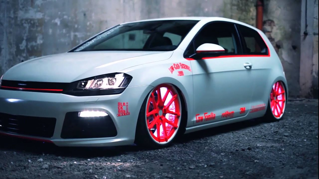 vw golf 7 2013 with tron light tuning showcar youtube. Black Bedroom Furniture Sets. Home Design Ideas