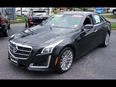 2014 cadillac cts 3 6l luxury walkaround start up tour. Black Bedroom Furniture Sets. Home Design Ideas