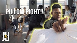 Pillow Fights With Random Strangers!!