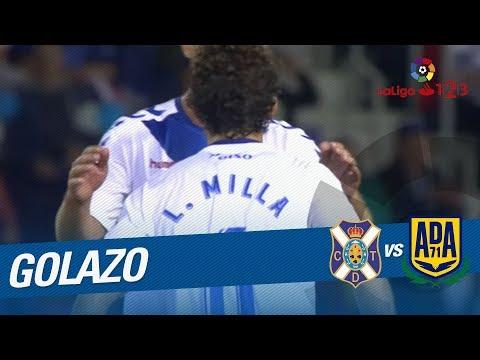 Great Goal of Luis Milla (2-2) CD Tenerife vs AD Alcorcon