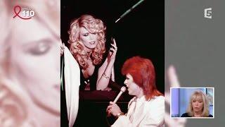 Amanda Lear sur David Bowie - C à vous - 27/03/2015