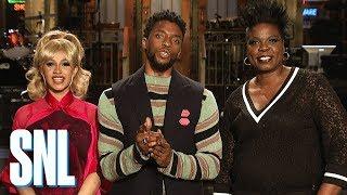 "Chadwick ""Black Panther"" Boseman Is Hosting SNL"