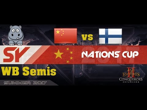 AOE2 SY Nationscup | GL WB Semis | Finland vs Frantic