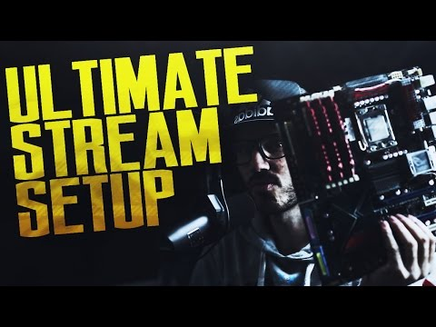 BUILDING THE ULTIMATE STREAMING SETUP!!