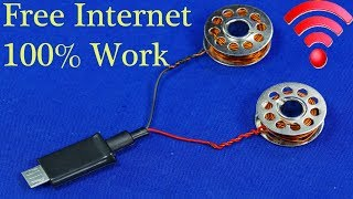 FREE INTERNET DATA FOR ANY SIM OR MOBILE PHONE FREE WiFi FOR HOME NEW IDEA 2019