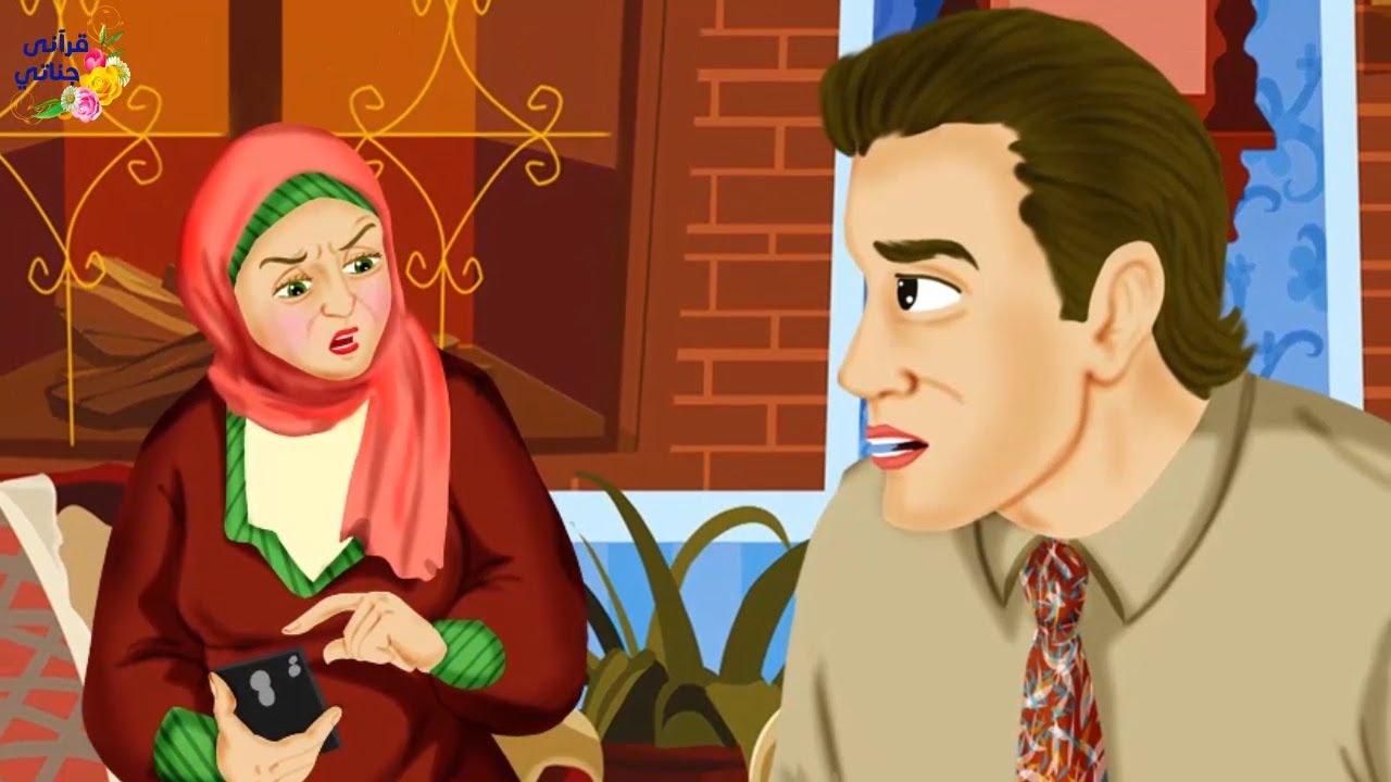 قصة عجيبة بعد أن علمت الزوجة أن زوجها يتحدث لوقت طويل مع فتاة بالهاتف كانت المفاجأة