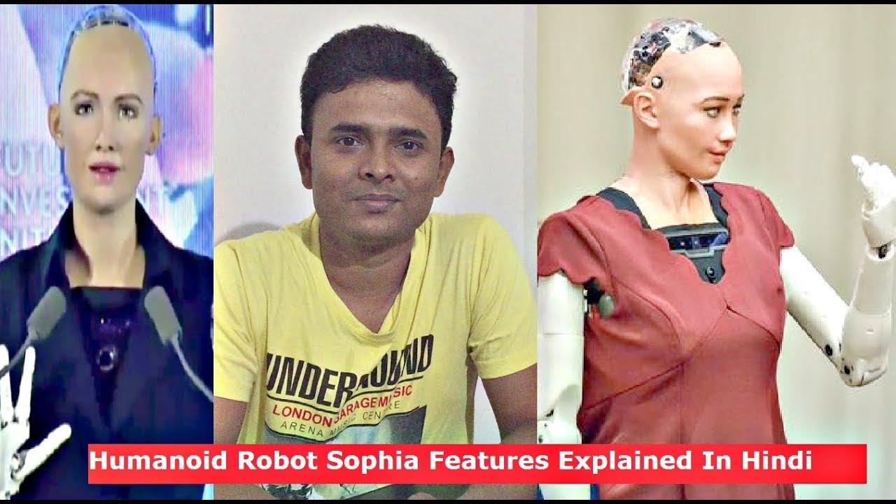 Humanoid Robot Sophia that