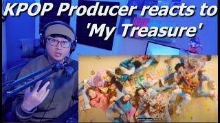 Download lagu Kpop Producer reaction to My Treasure