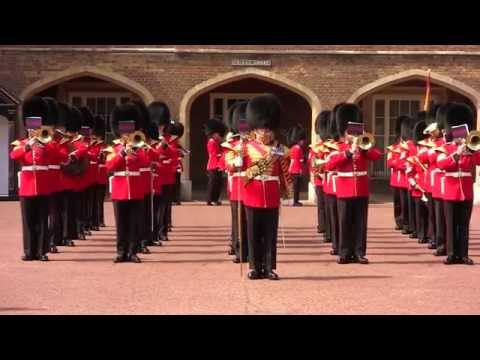 Band of the Scots Guards - St James's Palace - 15 June 2015