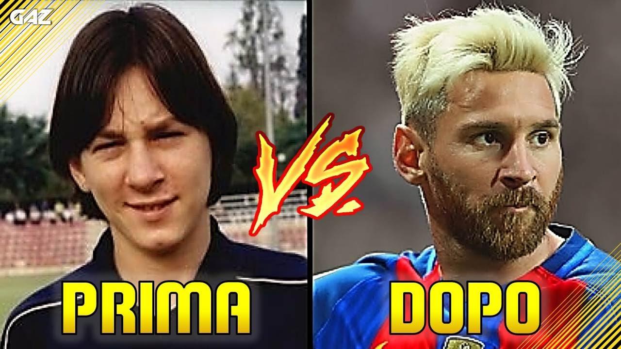 Messi Prima e dopo