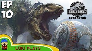 Jurassic World Evolution EP 10 - Third Island - AARGGH BUILDING!!!