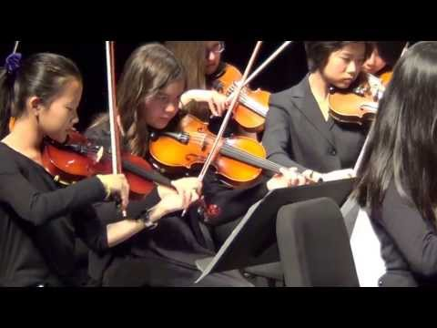 Water Music-Allegro by Handel- Mississauga Youth Orchestra