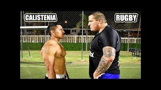CALISTENIA VS RUGBY | ¿Cual es Mejor Rugby o Calistenia - Street Workout?