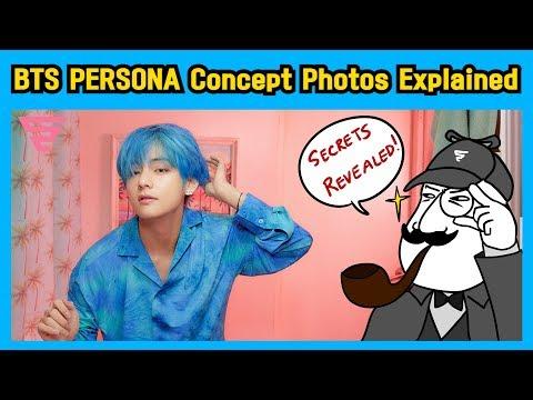 [BTS  Detective] PERSONA Concept Photos Explained!!!