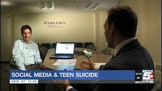 KCTV: Saint Luke's Neurologist Shares a Personal Story of Loss to Suicide