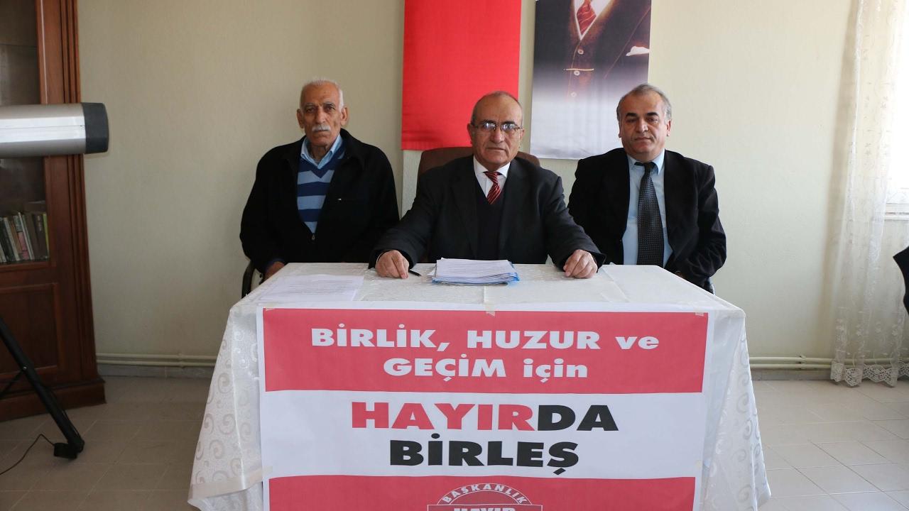 Vatan Partisi Başkanı Gültekin: 'Evet' Türkiye'yi bölüyor, 'Hayır' Birleştiriyor
