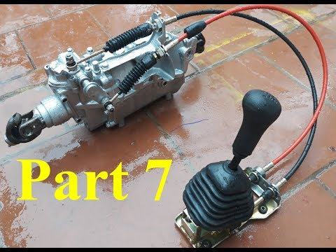 TECH - Homemade a car with gearbox strong car 500 kg - part 7