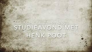 Spreekbeurt Henk Poot – Het geheim van Israel - deel 1 (21 september 2020)