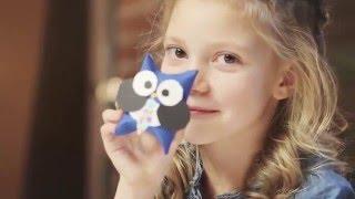 DohVinci Russia Делаем объемный подарочный конверт в виде совы 2 мастер-класс
