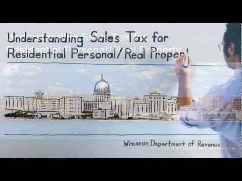 Understanding Sales Tax For Residential Personal/Real Property
