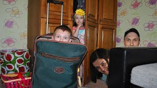Ksysha Kids Plays Hide and Seek with Mom & Dad