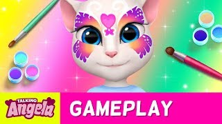 My Talking Angela – Fun with Face Paints