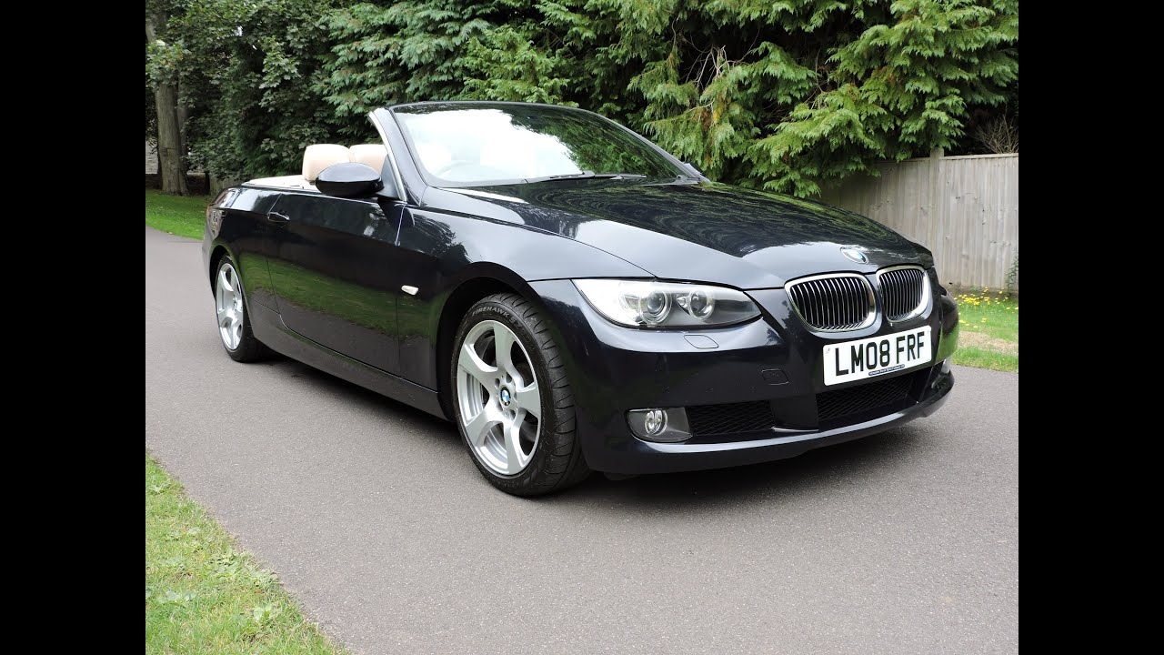 bmw 325i se convertible walkaround youtube. Black Bedroom Furniture Sets. Home Design Ideas
