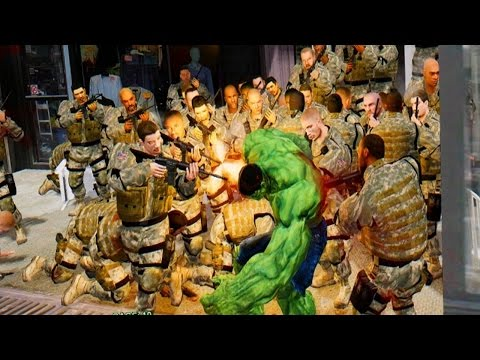 GREEN HULK VS USA ARMY - EPIC BATTLE