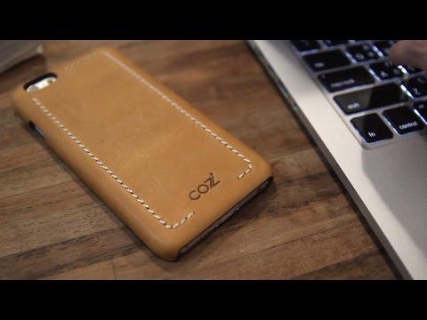 Чехол Cozistyle Wrapped Case для IPhone 6/6s и 6/6s Plus, премиальная кожа
