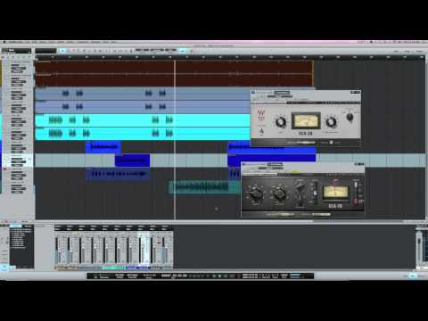 Waves CLA compressors on rap vocals
