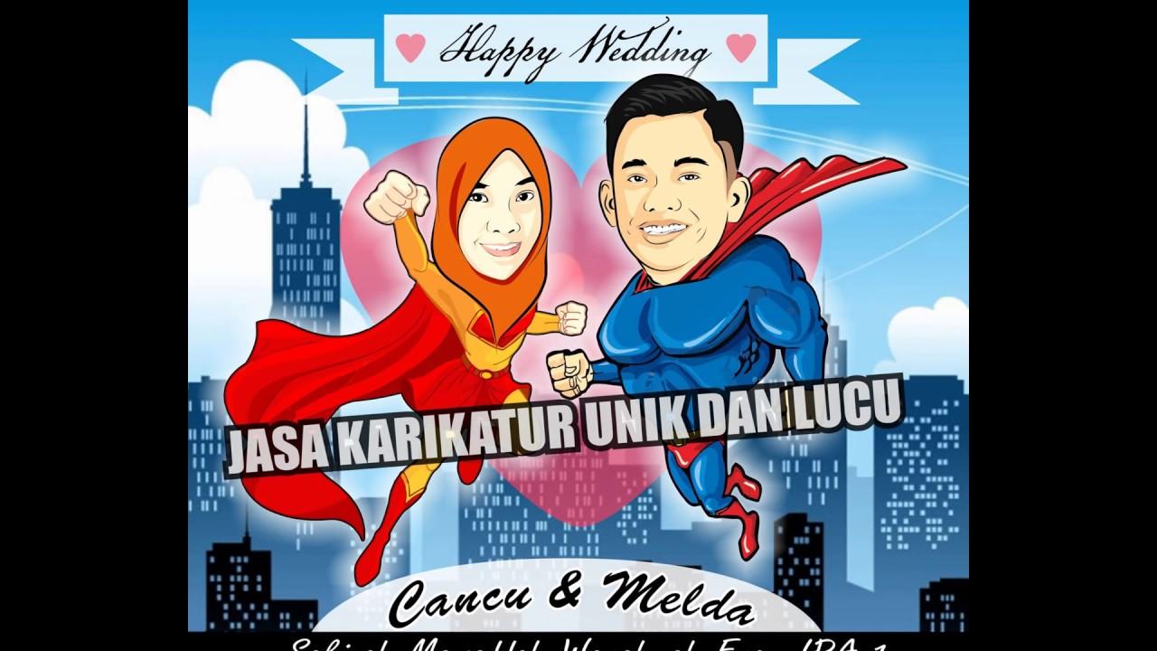 Jasa Gambar Karikatur Unik Lucu Makassar Sms Wa 085256734391