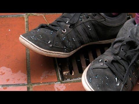 Schuhe Wasserabweisend machen || ganz einfacher Trick