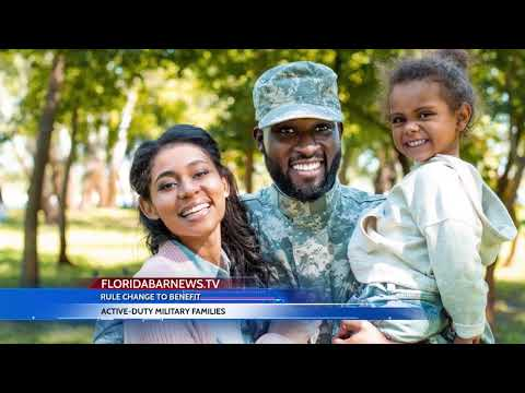 FloridaBarNews.TV  Update #111: First Florida Lawyer Admitted Under Military Spouse Rule