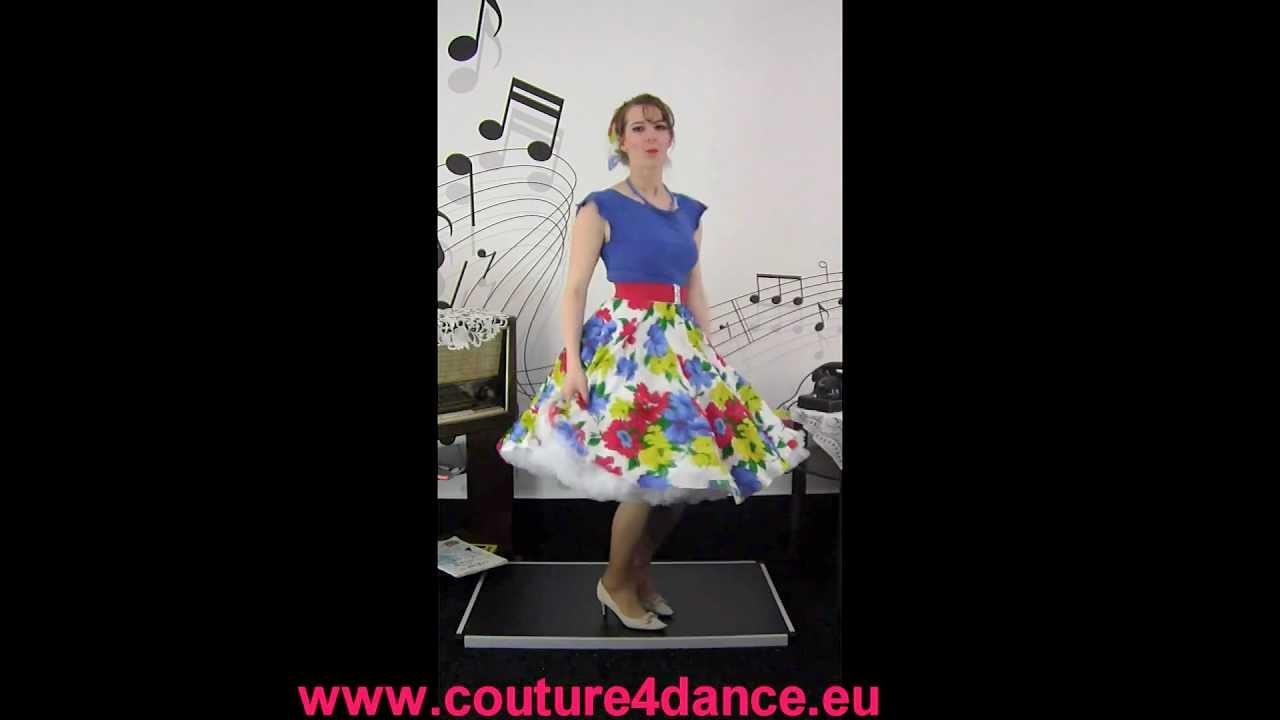 Tellerrock / Circleskirt + Top + Petticoat Folge 2
