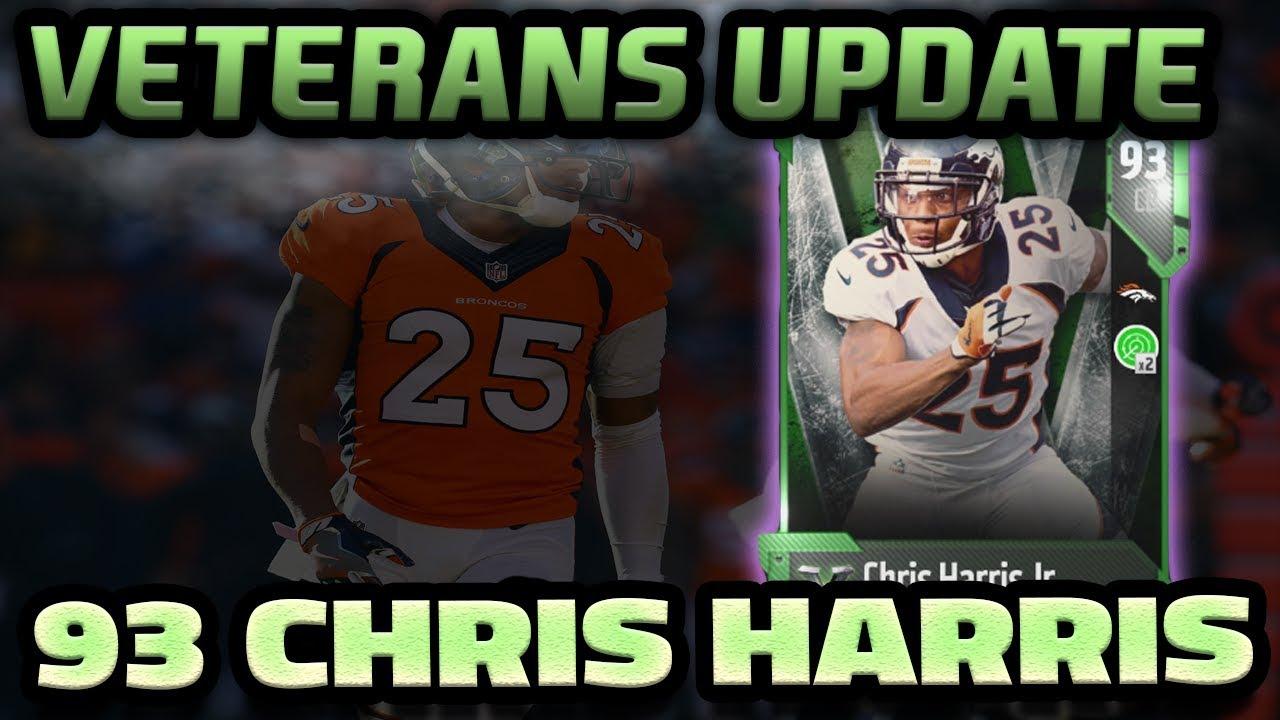 New Veteran Chris Harris And Playoff Set Update Madden 18 Youtube