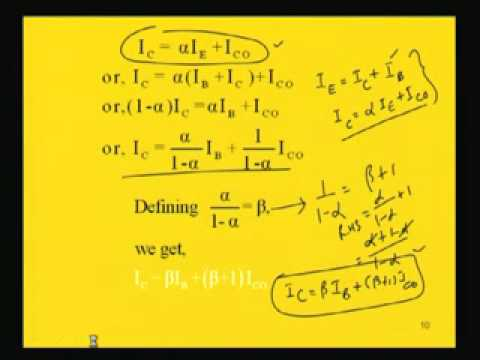 Module - 2 Lecture - 1 Transistor Operation-Part-1