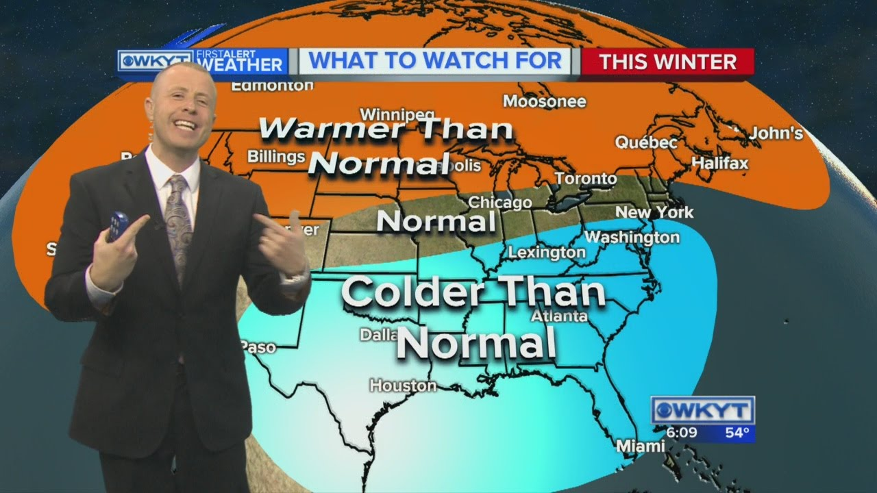 Wkyt Weather Map.Chris Bailey S Winter Weather Prediction Youtube