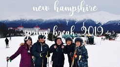 SPRING BREAK 2019 VLOG 5 | BOSTON TO NEW HAMPSHIRE (SKIING FOR THE FIRST TIME)