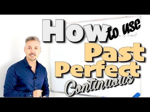 How To Use The PAST PERFECT CONTINUOUS (Inglese ULTRA Difficile - OTTIMA Lezione)