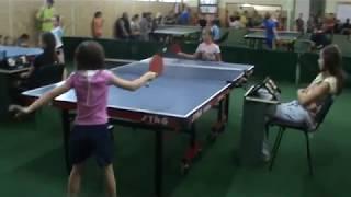 настольный теннис Вознесенск, 10.05.2018, игра 3