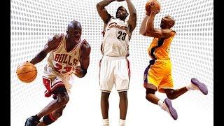 【NBA】 ジョーダン vs コービー vs レブロン スコッティジェームス 検索動画 29