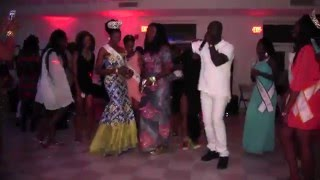 Hawa Barry et Fode Kouyate au Miss Guinee North America After Party