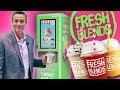 Fresh Blends Frozen Beverage Dispenser   Self-Serve Smoothie & Coffee Machine