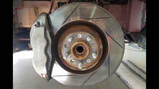 How to Inspect the Brakes on an Aston Martin DB9 or Vantage