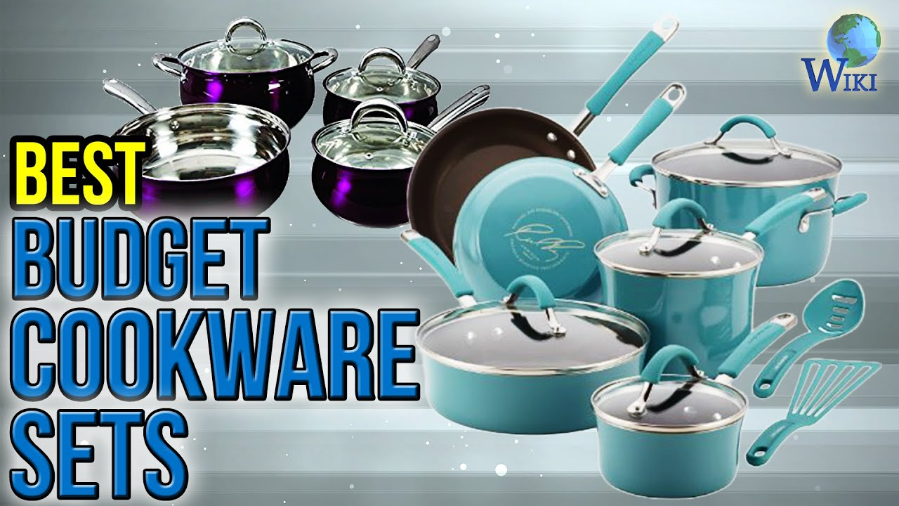 10 Best Budget Cookware Sets 2017 - YouTube