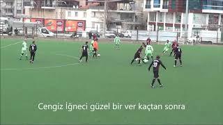 Cengiz İğneci gol İsmail EGE ÜSTTÜRK  asist