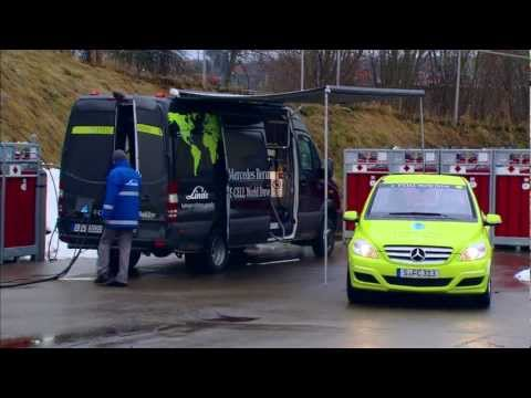 Mercedes fuel cell hydrogen world tour was with Linde
