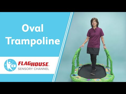 Strength & Balance Ideas for Therapy (Ep. 17 - Oval Trampoline)